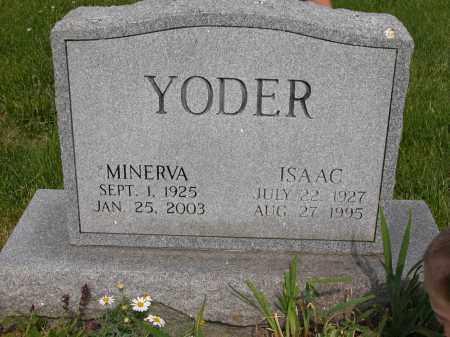 YODER, ISAAC - Union County, Ohio | ISAAC YODER - Ohio Gravestone Photos