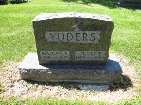 YODERS, GAY A. - Union County, Ohio | GAY A. YODERS - Ohio Gravestone Photos