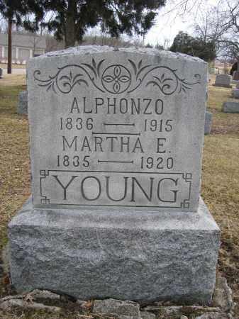 YOUNG, ALPHONZO - Union County, Ohio | ALPHONZO YOUNG - Ohio Gravestone Photos