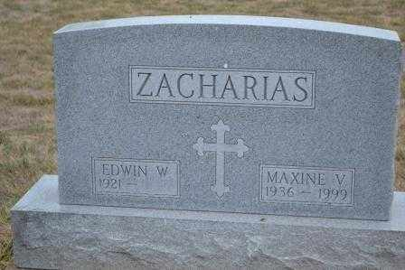 ZACHARIAS, MAXINE V. - Union County, Ohio | MAXINE V. ZACHARIAS - Ohio Gravestone Photos