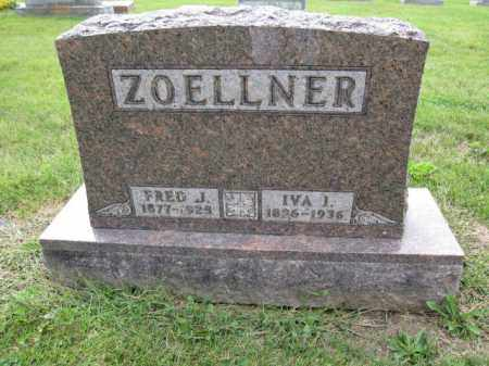 ZOELLNER, IVA I - Union County, Ohio | IVA I ZOELLNER - Ohio Gravestone Photos