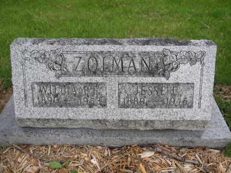 ZOLMAN, WILLIAM E. - Union County, Ohio | WILLIAM E. ZOLMAN - Ohio Gravestone Photos