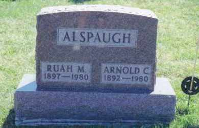 CLOUSE ALSPAUGH, RUAH MILDRED - Van Wert County, Ohio | RUAH MILDRED CLOUSE ALSPAUGH - Ohio Gravestone Photos