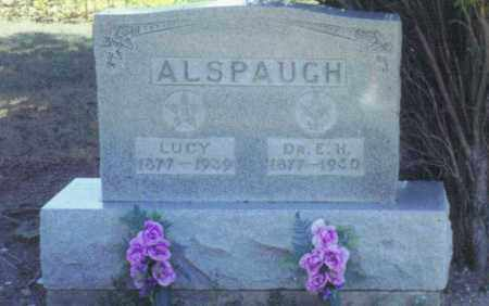 ROBINSON ALSPAUGH, LUCY - Van Wert County, Ohio | LUCY ROBINSON ALSPAUGH - Ohio Gravestone Photos