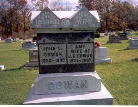 COWAN, AMY - Van Wert County, Ohio | AMY COWAN - Ohio Gravestone Photos