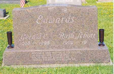 EDWARDS, RUTH - Van Wert County, Ohio | RUTH EDWARDS - Ohio Gravestone Photos