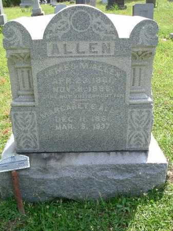 ALLEN, JAMES M. - Vinton County, Ohio | JAMES M. ALLEN - Ohio Gravestone Photos