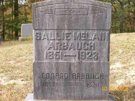 MCLAIN ARBAUGH, SARAH - Vinton County, Ohio | SARAH MCLAIN ARBAUGH - Ohio Gravestone Photos