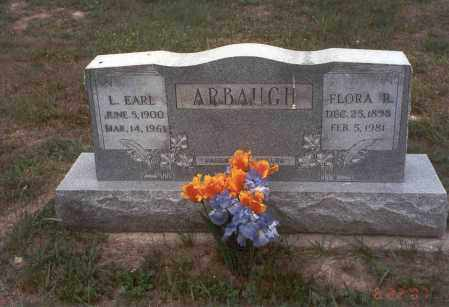 ARBAUGH, FLORA R. - Vinton County, Ohio | FLORA R. ARBAUGH - Ohio Gravestone Photos