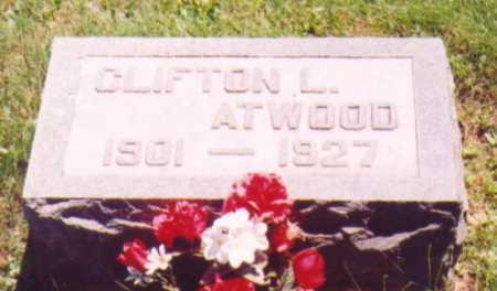 ATWOOD, CLIFTON L. - Vinton County, Ohio | CLIFTON L. ATWOOD - Ohio Gravestone Photos