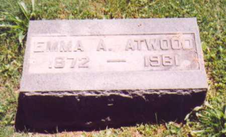ATWOOD, EMMA A. - Vinton County, Ohio | EMMA A. ATWOOD - Ohio Gravestone Photos