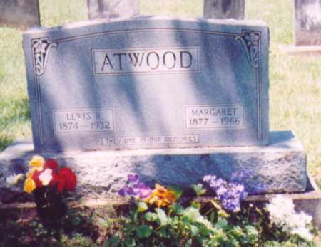 ATWOOD, MARGARET - Vinton County, Ohio | MARGARET ATWOOD - Ohio Gravestone Photos