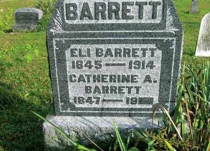 DEEMER BARRETT, CATHERINE A. - Vinton County, Ohio | CATHERINE A. DEEMER BARRETT - Ohio Gravestone Photos
