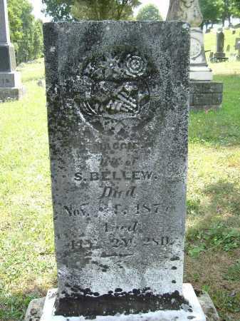 BELLEW, MAGGIE - Vinton County, Ohio | MAGGIE BELLEW - Ohio Gravestone Photos