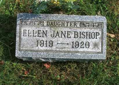 BISHOP, ELLEN JANE - Vinton County, Ohio | ELLEN JANE BISHOP - Ohio Gravestone Photos