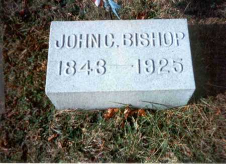 BISHOP, M.D., JOHN C. - Vinton County, Ohio | JOHN C. BISHOP, M.D. - Ohio Gravestone Photos