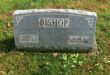 BISHOP, SILAS D. - Vinton County, Ohio | SILAS D. BISHOP - Ohio Gravestone Photos