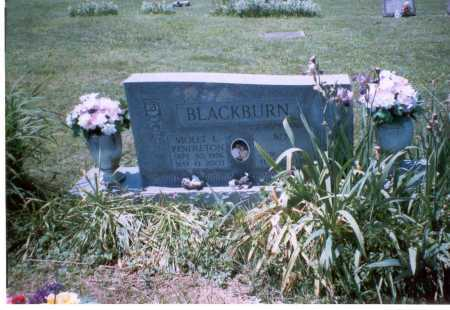 BLACKBURN, VIOLET L. - Vinton County, Ohio | VIOLET L. BLACKBURN - Ohio Gravestone Photos