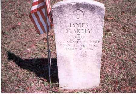 BLAKELY, JAMES - Vinton County, Ohio | JAMES BLAKELY - Ohio Gravestone Photos