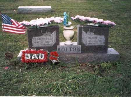 BOLTON, MARIE C. - Vinton County, Ohio | MARIE C. BOLTON - Ohio Gravestone Photos