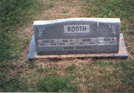 BOOTH, INFANT DAUGHTER - Vinton County, Ohio | INFANT DAUGHTER BOOTH - Ohio Gravestone Photos