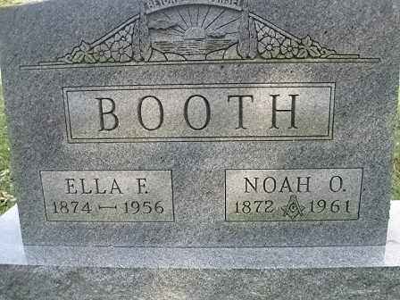 BOOTH, NOAH O. - Vinton County, Ohio | NOAH O. BOOTH - Ohio Gravestone Photos