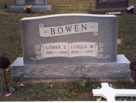 BOWEN, LUELLA M. - Vinton County, Ohio | LUELLA M. BOWEN - Ohio Gravestone Photos