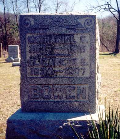 BOWEN, NATHANIEL G. - Vinton County, Ohio | NATHANIEL G. BOWEN - Ohio Gravestone Photos
