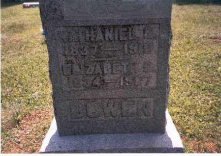 BARNHOUSE BOWEN, ELIZABETH - Vinton County, Ohio | ELIZABETH BARNHOUSE BOWEN - Ohio Gravestone Photos