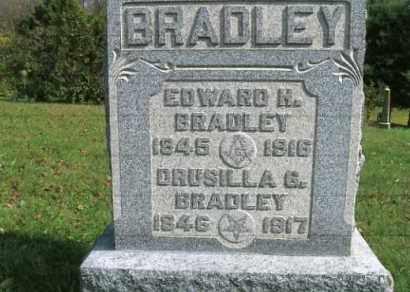 BRADLEY, DRUSILLA ANN - Vinton County, Ohio | DRUSILLA ANN BRADLEY - Ohio Gravestone Photos