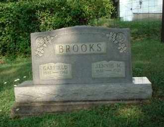 REEDER BROOKS, JENNIE M. - Vinton County, Ohio | JENNIE M. REEDER BROOKS - Ohio Gravestone Photos