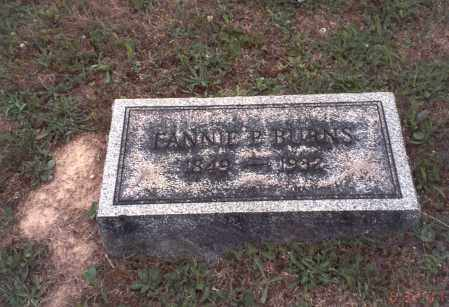 BURNS, FANNIE P. - Vinton County, Ohio | FANNIE P. BURNS - Ohio Gravestone Photos