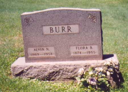BURR, FLORA B. - Vinton County, Ohio | FLORA B. BURR - Ohio Gravestone Photos