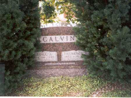 CALVIN, LAURENCE V. - Vinton County, Ohio | LAURENCE V. CALVIN - Ohio Gravestone Photos
