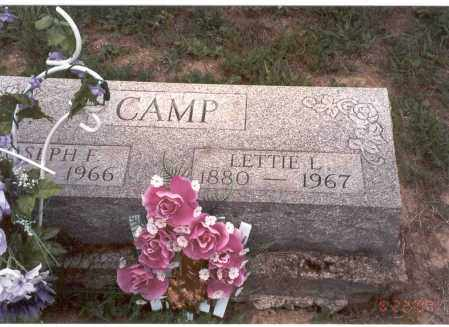 CAMP, LETTIE L. - Vinton County, Ohio | LETTIE L. CAMP - Ohio Gravestone Photos