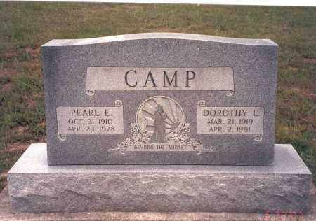 CAMP, PEARL E. - Vinton County, Ohio | PEARL E. CAMP - Ohio Gravestone Photos