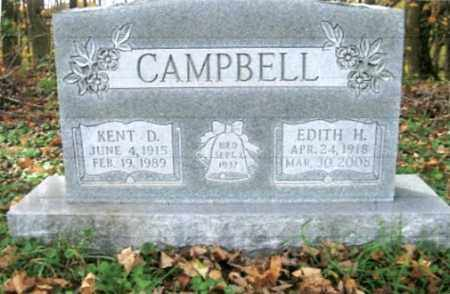 CAMPBELL, KENT D. - Vinton County, Ohio | KENT D. CAMPBELL - Ohio Gravestone Photos