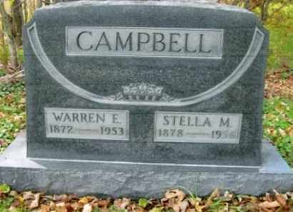 CAMPBELL, WARREN E. - Vinton County, Ohio | WARREN E. CAMPBELL - Ohio Gravestone Photos