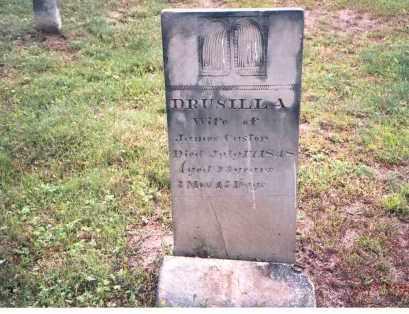 CASTOR, DRUSILLA - Vinton County, Ohio | DRUSILLA CASTOR - Ohio Gravestone Photos