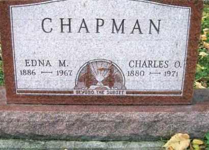 CHAPMAN, EDNA M. - Vinton County, Ohio | EDNA M. CHAPMAN - Ohio Gravestone Photos