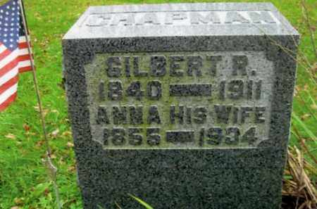 CHAPMAN, GILBERT RILEY - Vinton County, Ohio | GILBERT RILEY CHAPMAN - Ohio Gravestone Photos