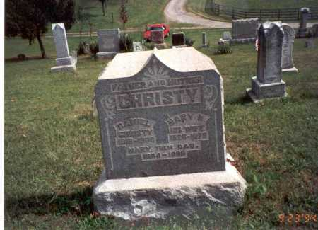 CHRISTY, MARY M. - Vinton County, Ohio | MARY M. CHRISTY - Ohio Gravestone Photos