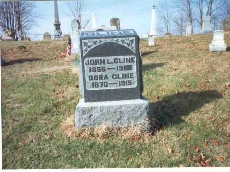 CLINE, JOHN L. - Vinton County, Ohio | JOHN L. CLINE - Ohio Gravestone Photos