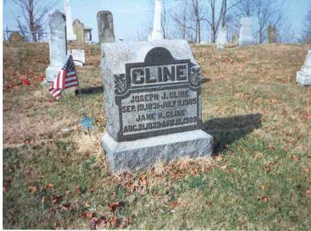 CLINE, JANE - Vinton County, Ohio | JANE CLINE - Ohio Gravestone Photos
