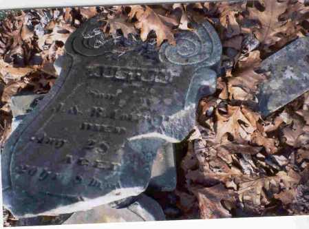 COTTRILL, AUSTON - Vinton County, Ohio | AUSTON COTTRILL - Ohio Gravestone Photos