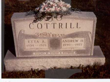 COTTRILL, ETTA - Vinton County, Ohio | ETTA COTTRILL - Ohio Gravestone Photos