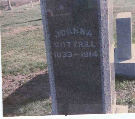 COTTRILL, JOANNA - Vinton County, Ohio | JOANNA COTTRILL - Ohio Gravestone Photos