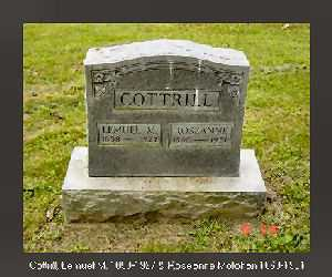 COTTRILL, LEMUEL MARSHALL - Vinton County, Ohio | LEMUEL MARSHALL COTTRILL - Ohio Gravestone Photos