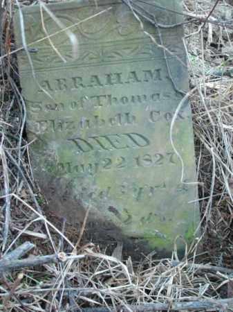 COX, ABRAHAM - Vinton County, Ohio | ABRAHAM COX - Ohio Gravestone Photos