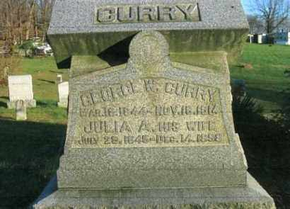 CURRY, JULIA A. - Vinton County, Ohio | JULIA A. CURRY - Ohio Gravestone Photos